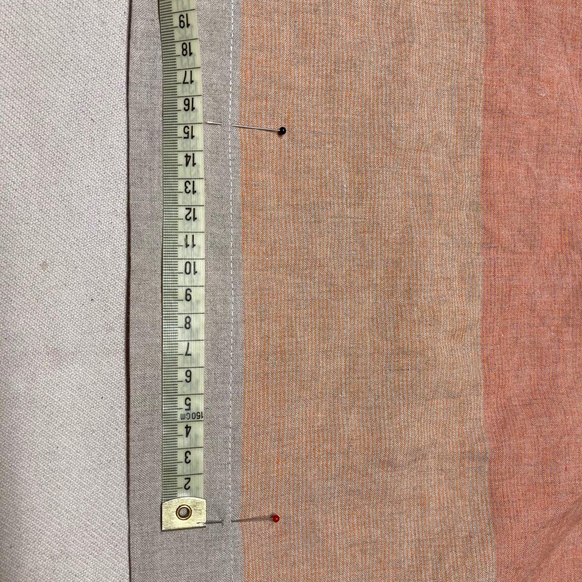 Návod na šití ložního povlečení v devíti krocích.